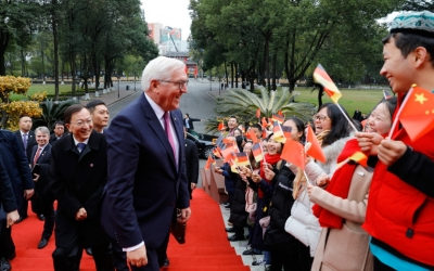 German President visited the Sichuan University
